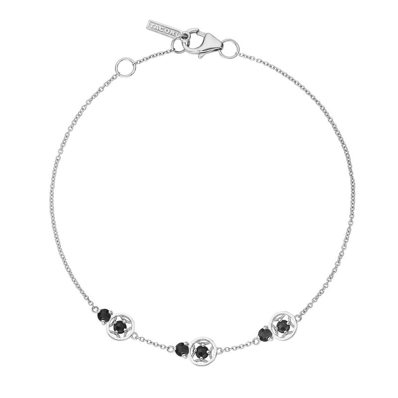 Tacori Fashion Petite Gemstone Bracelet with Black Onyx