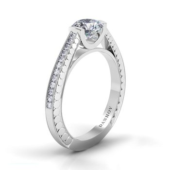 Tubetto Engagement Ring