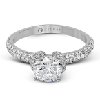 Zeghani ZR1225 ENGAGEMENT RING