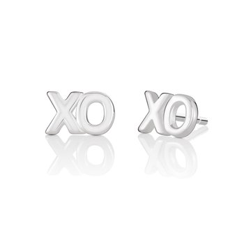 Petite Emoticon XO Stud Earrings