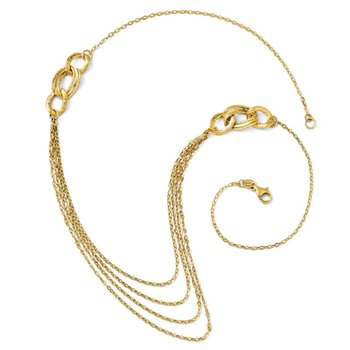 Leslie's 14K Four Layer Rope Chain Necklace