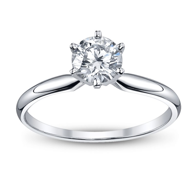 Veer Diamonds THE CLASSIC SOLITAIRE RING