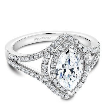 Noam Carver Fancy Engagement Ring B100-08A