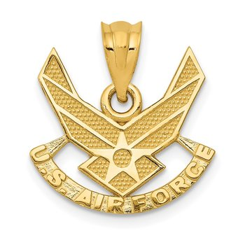 14k U. S. AIR FORCE Pendant