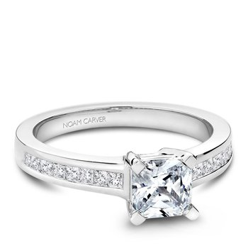 Noam Carver Fancy Engagement Ring B031-02A