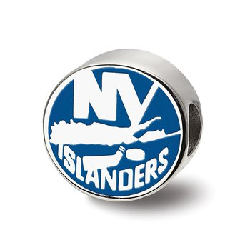 Sterling Silver New York Islanders NHL Bead
