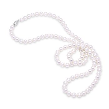 "6.5-7MM 30"" Akoya Pearl Strand Necklace"