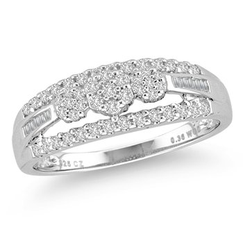14K 0.36Ct  Diamond Ring