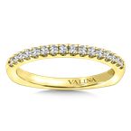 Valina Stackable Wedding Band in 14K Yellow Gold (.22 ct. tw.)