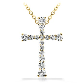 Divine Journey Cross Pendant Necklace