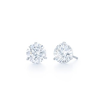 Kwiat Diamond Stud Earrings