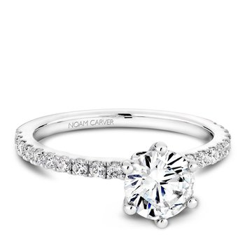 Noam Carver Modern Engagement Ring B022-02A