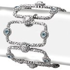 Eleganza Ladies Gemstone Bracelet