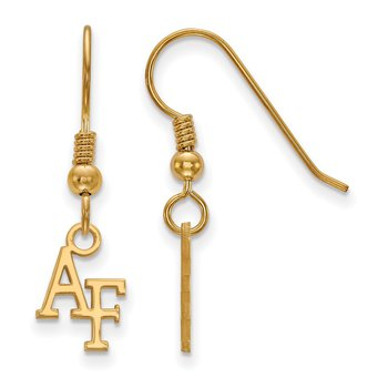 Gold-Plated Sterling Silver United States Air Force Academy NCAA Earrings