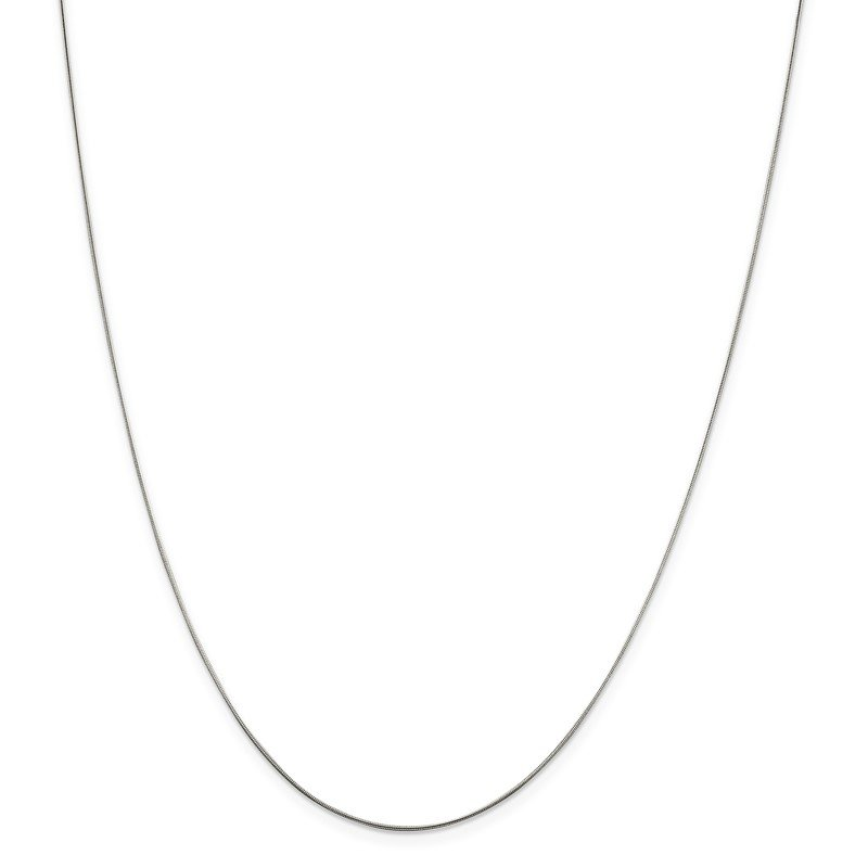 Quality Gold Sterling Silver .7mm Snake Chain