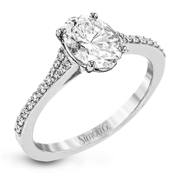 LR2507-OV ENGAGEMENT RING