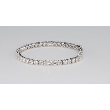 10.87 Cttw Diamond Tennis Bracelet