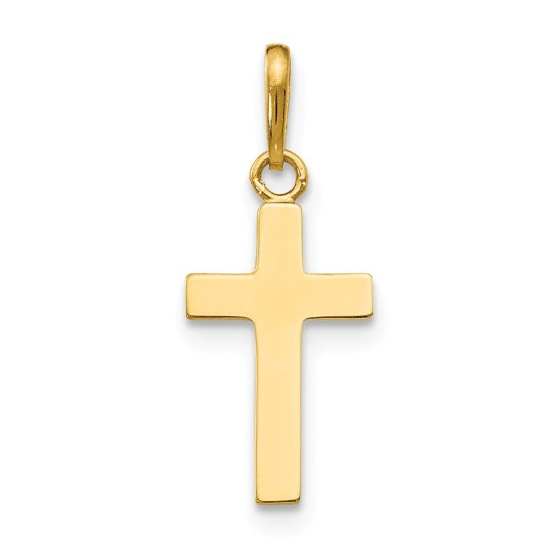 Quality Gold 14k Children's Cross Pendant
