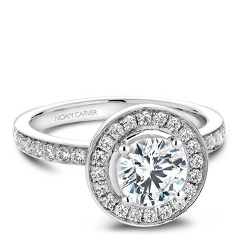Noam Carver Vintage Engagement Ring B023-01A