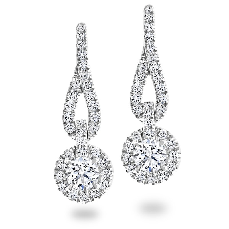 Canadian Rocks Diamond Drop Earrings