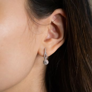 Diamond Drop Earrings