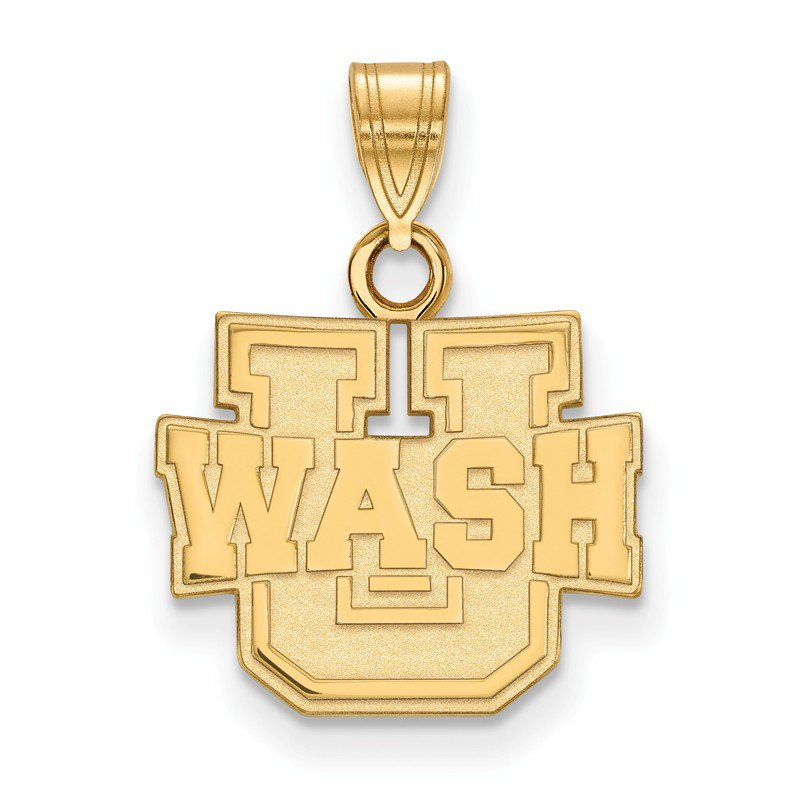 NCAA Gold Washington University in St. Louis NCAA Pendant