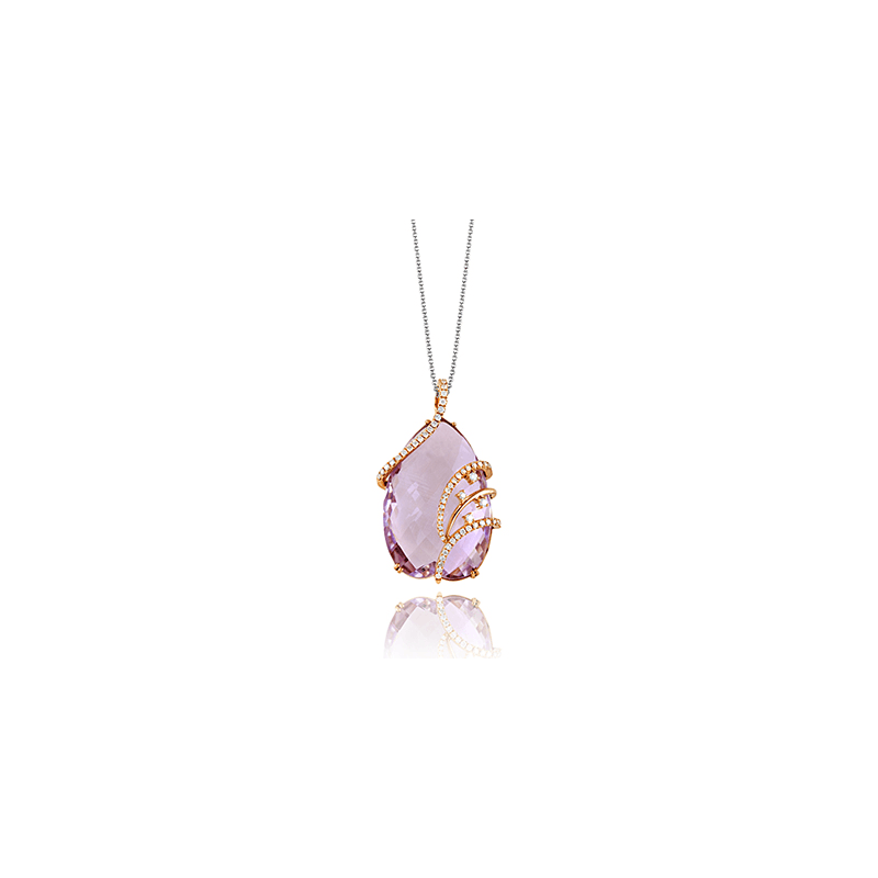 Zeghani ZP386 COLOR PENDANT