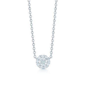 Kwiat Sunburst Diamond Pendant