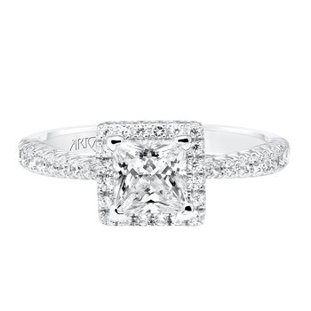 ArtCarved Leighton Diamond Engagement Mounting