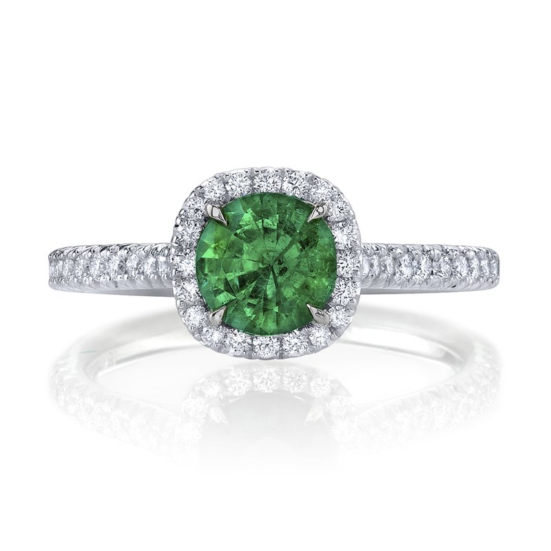 Omi Prive Emerald & Diamond Ring