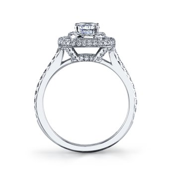 25525 Diamond Engagement Ring 0.69 ct tw
