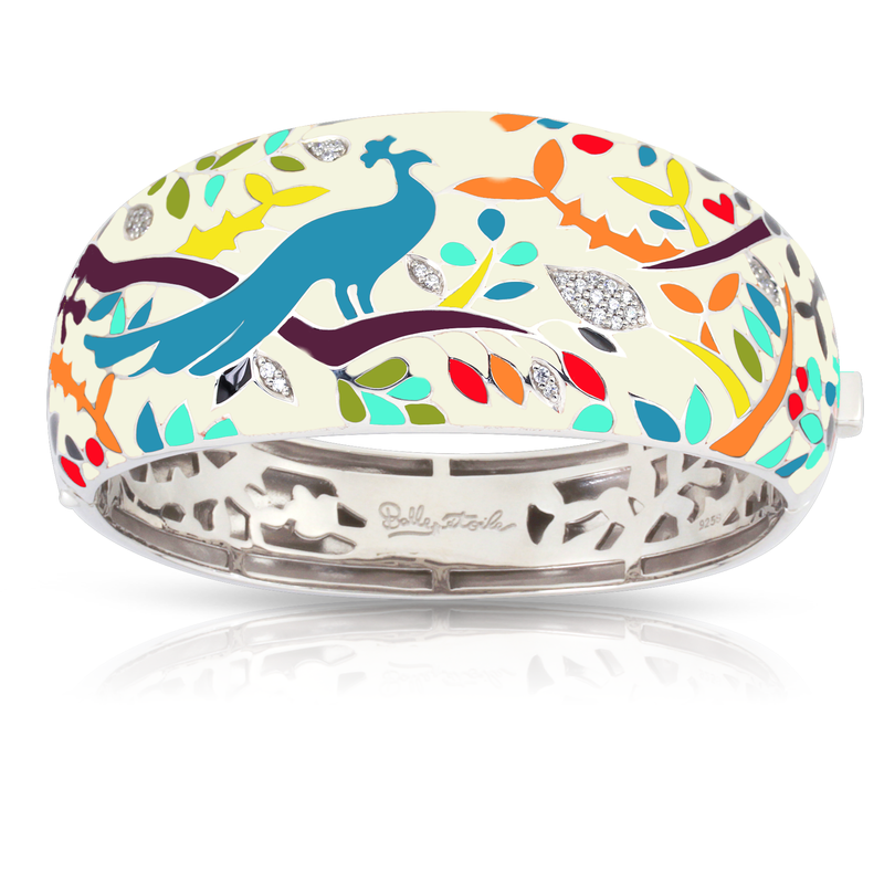 Belle Etoile Peacock Paradise Bangle