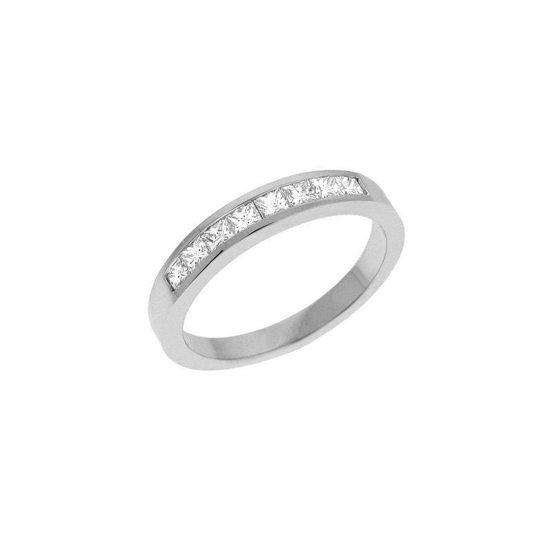 S. Kashi & Sons Bridal Diamond Princess Cut  Ring