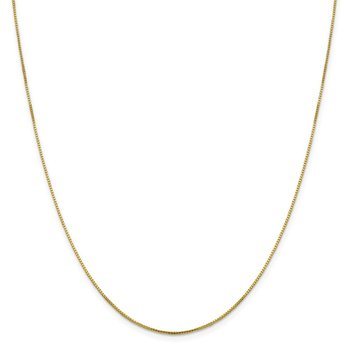 Leslie's 10K .95mm Sparkle Octagonal Box Chain