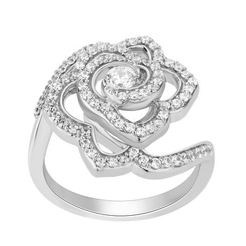 14KW 5/8CTW Belle Rose Fashion Ring