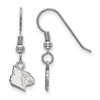 Sterling Silver University of Louisville NCAA Earrings