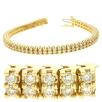Double Row Tennis Bracelet