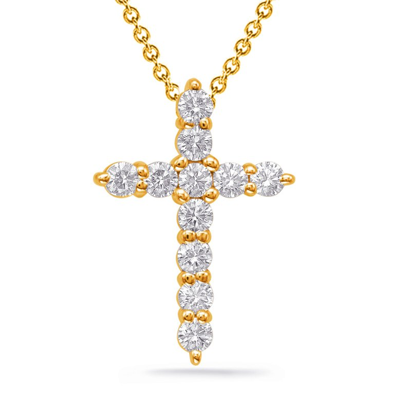 S. Kashi  & Sons Diamond Cross Shared Prong Set