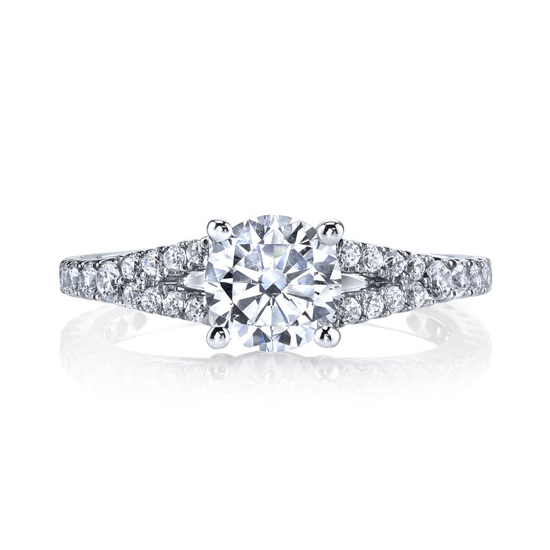 MARS Jewelry Diamond Engagement Ring 0.57 ct tw