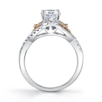 MARS 25951 Diamond Engagement Ring 0.29 Ctw.