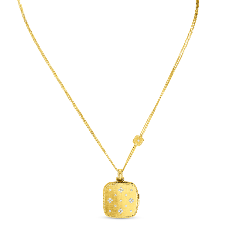 Roberto Coin 18Kt Gold Locket Pendant