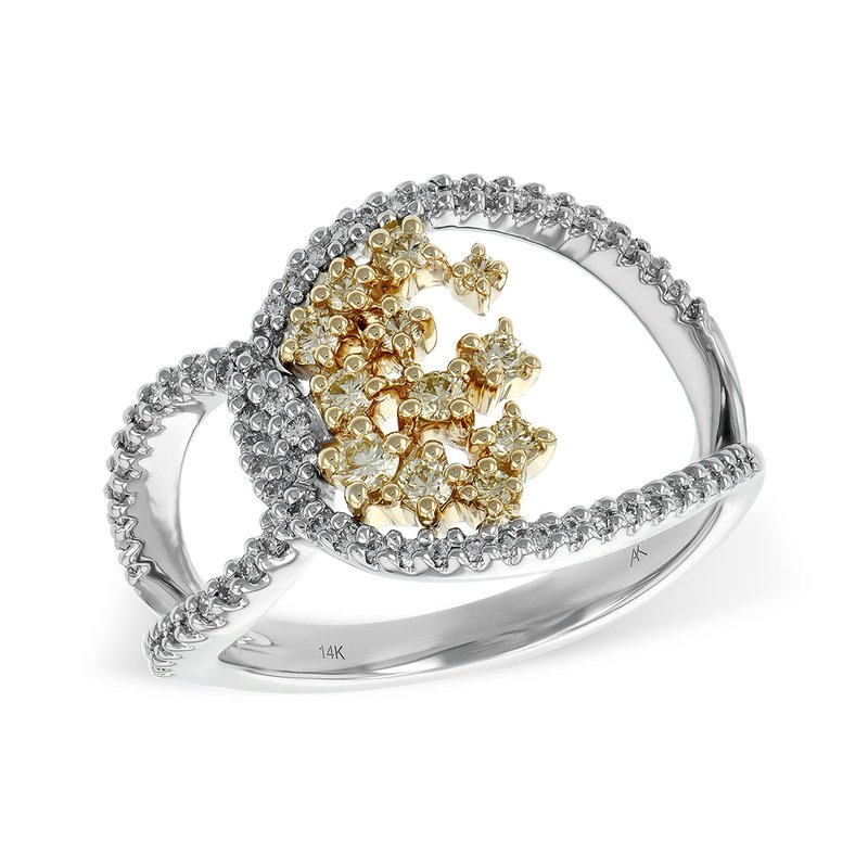 Allison-Kaufman 14KT Gold Ladies Diamond Ring
