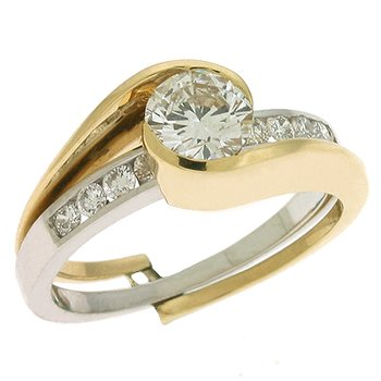 Engagement Ring  For 1/3 to 1/2ct center
