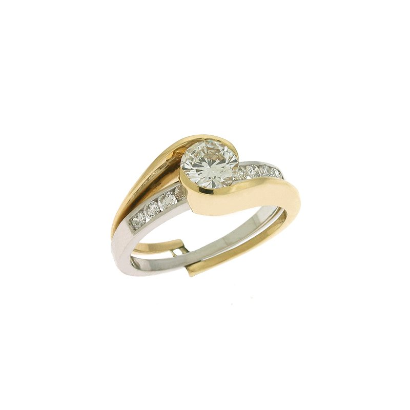 S. Kashi & Sons Bridal Engagement Ring  For 1/3 to 1/2ct center