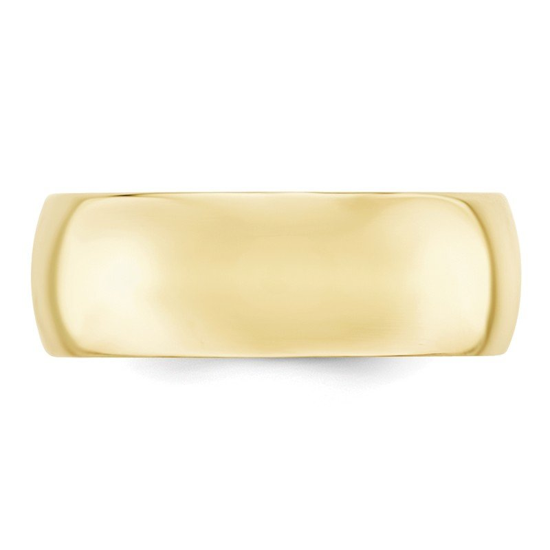 Quality Gold 10KY 8mm Standard Comfort Fit Band Size 10