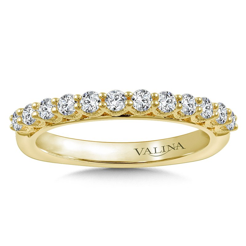 Valina Bridals Stackable Wedding Band in 14K Yellow Gold (.47 ct. tw.)