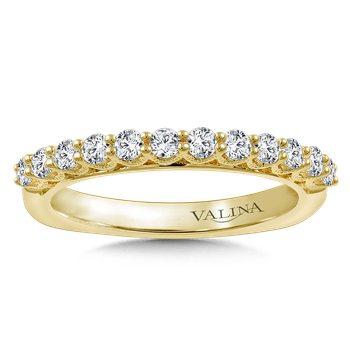 Stackable Wedding Band in 14K Yellow Gold (.47 ct. tw.)