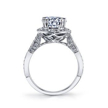 25313 Diamond Engagement Ring 0.68 ct tw