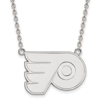 Sterling Silver Philadelphia Flyers NHL Necklace
