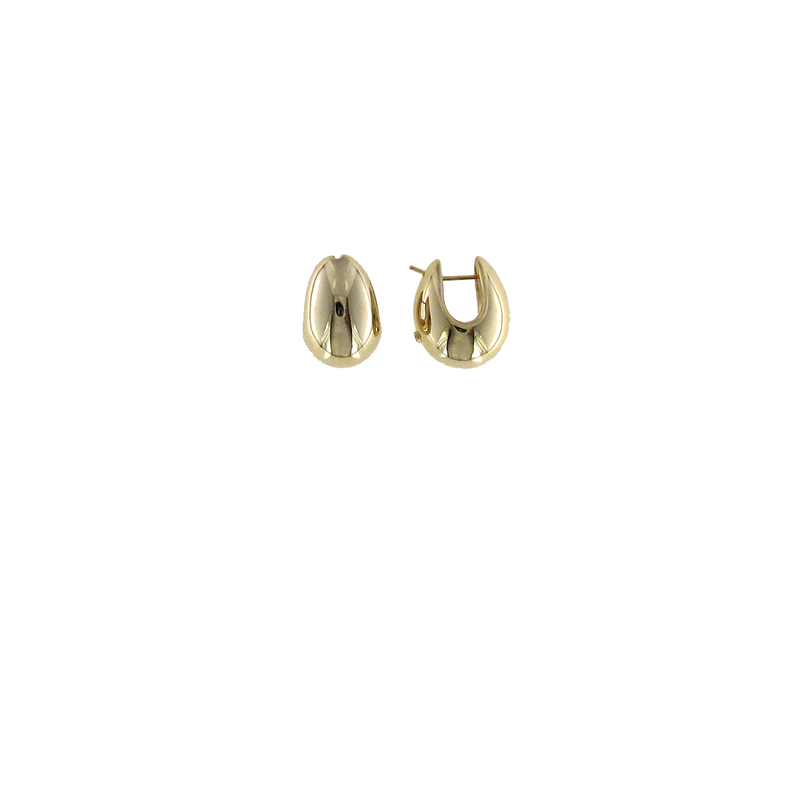 Roberto Coin 18Kt Gold Wide Teardrop Earring